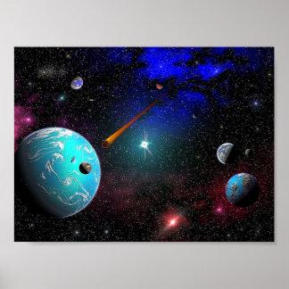 太陽系C-9G6A ポスター