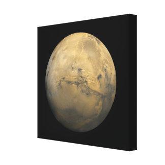 太陽系NASAの惑星の火星 キャンバスプリント