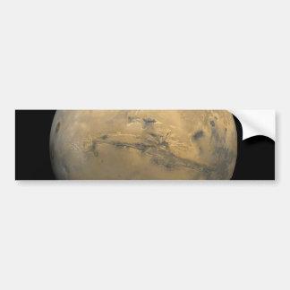 太陽系NASAの惑星の火星 バンパーステッカー