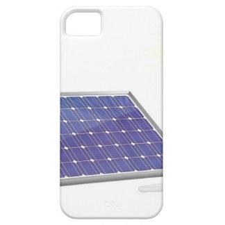 太陽電池パネルおよび電球 iPhone SE/5/5s ケース