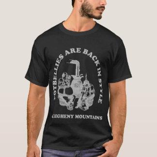 太鼓腹はスタイルもどって来ます Tシャツ