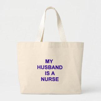 夫のナース ラージトートバッグ