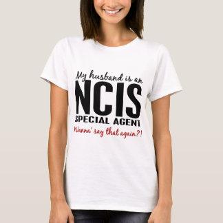 夫はNCISの代理人です Tシャツ