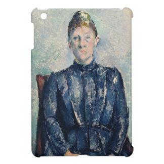 夫人のセザンヌ、c.1890 (キャンバスの油)ポートレート iPad miniカバー