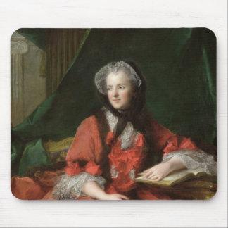夫人のマリアLeszczynska 1748年ポートレート マウスパッド