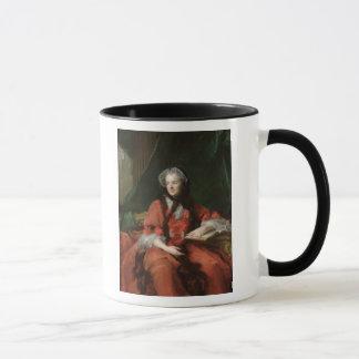 夫人のマリアLeszczynska 1748年ポートレート マグカップ