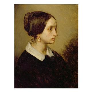 夫人のOno 1844年ポートレート ポストカード