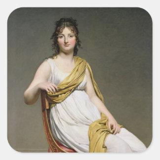 夫人のRaymond de Verninac 1798-99年ポートレート スクエアシール