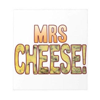 夫人ブルーチーズ ノートパッド