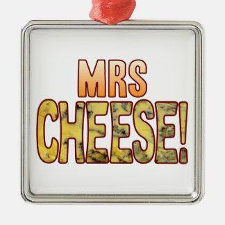夫人ブルーチーズ メタルオーナメント