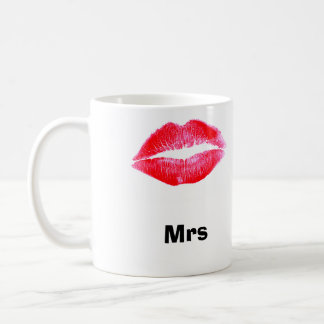 夫人唇のマグ コーヒーマグカップ