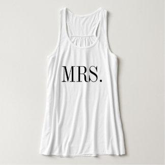夫人花嫁の結婚式のワイシャツ タンクトップ