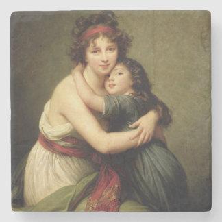 夫人Vigee-Lebrunおよび彼女の娘2 ストーンコースター
