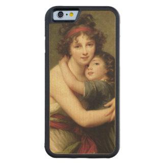 夫人Vigee-Lebrunおよび彼女の娘2 CarvedメープルiPhone 6バンパーケース