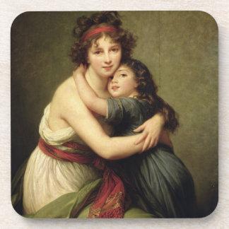夫人Vigee-Lebrunおよび彼女の娘 コースター
