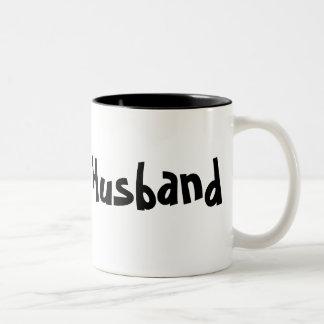 夫-コーヒーカップかマグ ツートーンマグカップ
