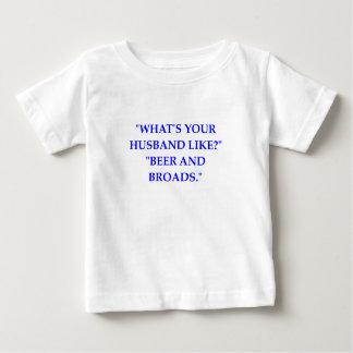 夫 ベビーTシャツ