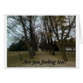 失った感じること カード