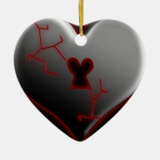 失恋のバレンタインのオーナメント セラミックオーナメント