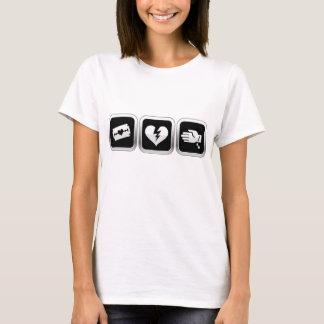 失恋の自殺 Tシャツ