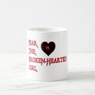 失意を恐れて下さい コーヒーマグカップ