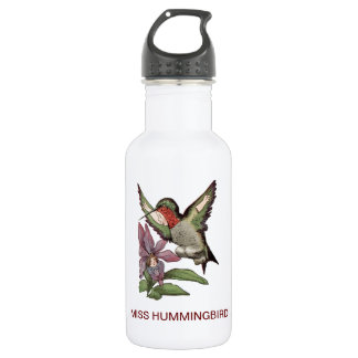 失敗のハチドリ-具現された鳥 ウォーターボトル
