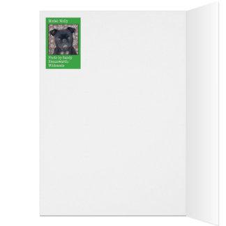 失敗のモーリー--ファッショニスタ犬 カード
