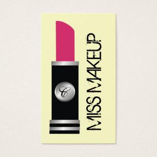 失敗の化粧のピンク 名刺