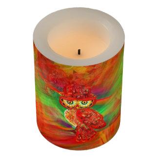 失敗の浪費の秋のファッションのフクロウLEDの蝋燭 LEDキャンドル