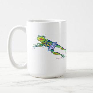 失敗のFROGGYのマグ-版権©2003 SylviART コーヒーマグカップ