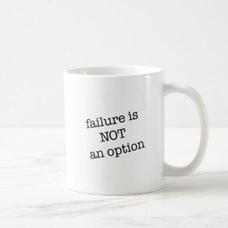 失敗は選択ではないです コーヒーマグカップ