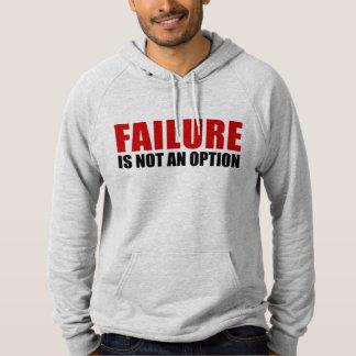 失敗は選択ではないです パーカ