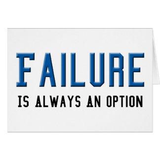 失敗は選択常にです カード