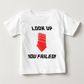 -失敗を調べて下さい! ベビーTシャツ