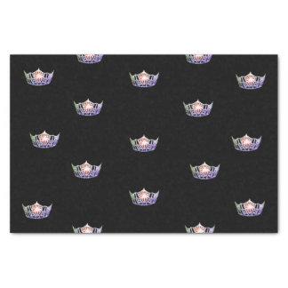 失敗アメリカのラベンダーの銀の王冠のティッシュペーパー 薄葉紙