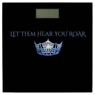 失敗アメリカの王冠は体重計をとどろくのを聞きます 体重計