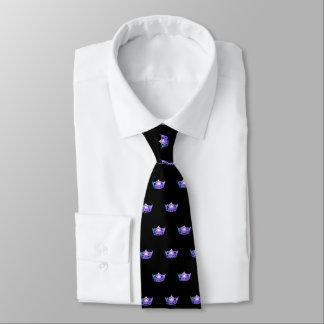 失敗アメリカの紫色の王冠の人のタイ オリジナルネクタイ