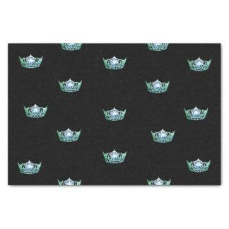 失敗アメリカの緑の王冠のティッシュペーパー 薄葉紙