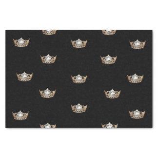 失敗アメリカの金ゴールドの王冠のティッシュペーパー 薄葉紙