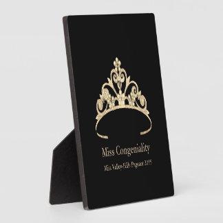 失敗アメリカの金ゴールドの王冠はプラクを与えます フォトプラーク