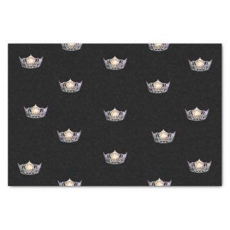 失敗アメリカの銀製の王冠のティッシュペーパー 薄葉紙