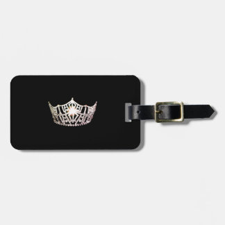 失敗アメリカの銀製の王冠の荷物のラベル ラゲッジタグ
