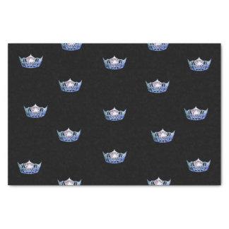 失敗アメリカの青い王冠のティッシュペーパー 薄葉紙