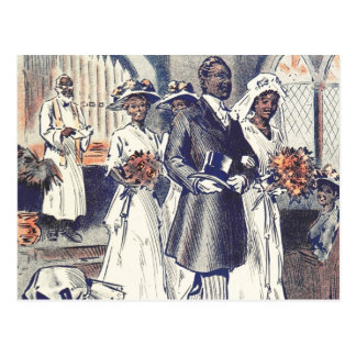 失敗サマンサジョンソンの結婚式 ポストカード