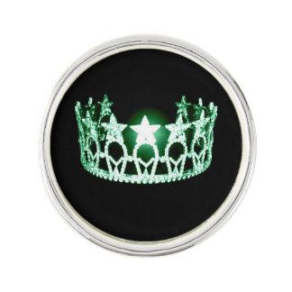 失敗米国のスタイルの星のティアラの王冠のラペルピン ラペルピン