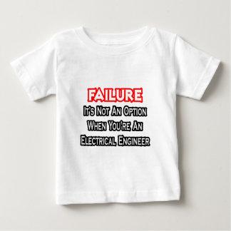 失敗…ない選択…電気技師 ベビーTシャツ