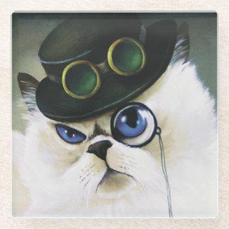 失敗。 子猫Bartholomew ガラスコースター