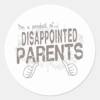 失望した親 ラウンドシール