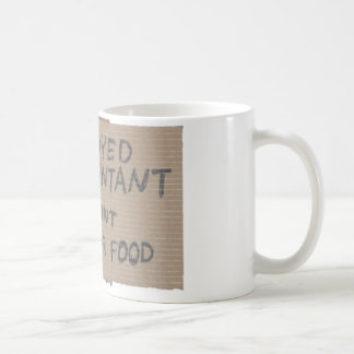 失業した会計士1 コーヒーマグカップ