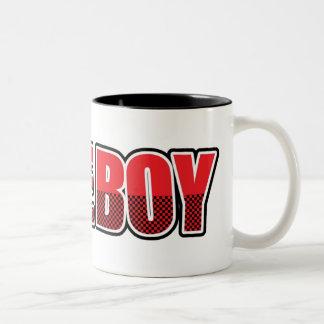 失礼な男の子のマグ ツートーンマグカップ